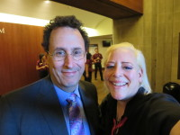 Author, Playwright, Genius of our times, Hero of the Theatre, Tony Kushner with SKY Palkowitz.