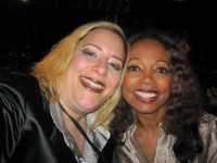I love me some Florence La Rue from The 5th Dimension! SKY and Florence backstage at LAWTF.