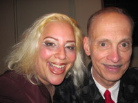 SKY with the legendary filmmaker, John Waters.