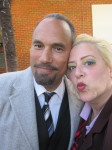 The very captivating Roger Guenveur Smith and SKY, cute couple!