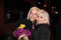 Two blonde zany performance artists, soul sisters, activist of the stage, Penny Arcade and The Delusional Diva!