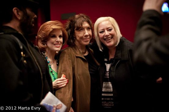 SKY Palkowitz and Lily Tomlin and Kat Kramer