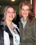 Sky and Sandra Bernhard backstage at the Silent Theatre in Hollywood!