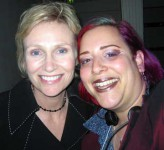 Jane Lynch and SKY, two funny character people!