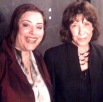 Lily Tomlin and SKY backstage at the World-famous COMEDY STORE on Sunset, both played Main Room for the first time!